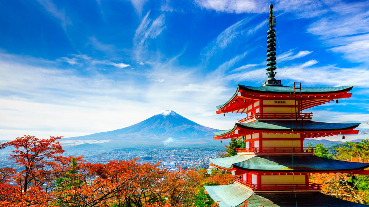 Tokyo tour packages from India