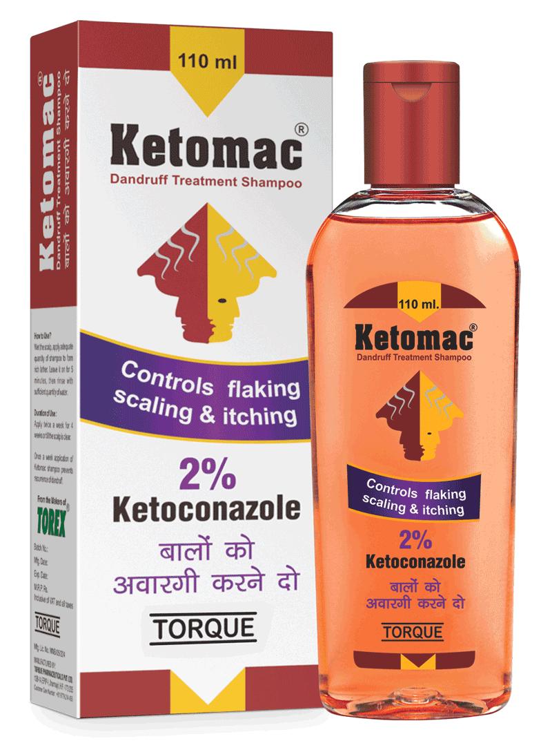 Ketomac shampoo hair fall