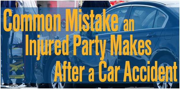 The 5 Biggest Mistakes People Make After A Car Accident