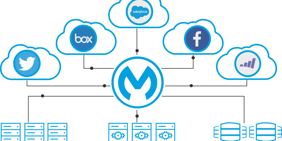 What are the various advantages to the development of mulesoft?