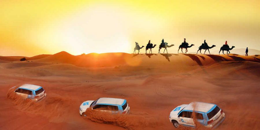 Beautiful Desert Safari in Dubai