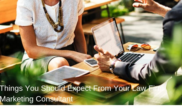 Things You Should Expect From Your Law Firm Marketing Consultant