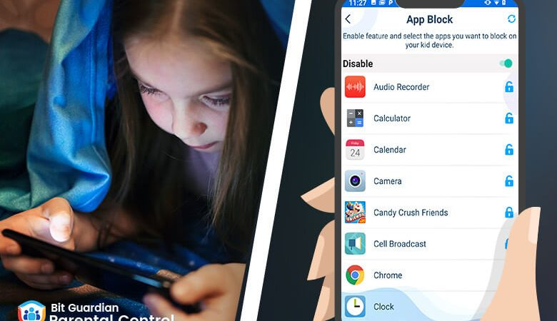 Parental Control App – monitor your Kid's Cell Phone Addiction