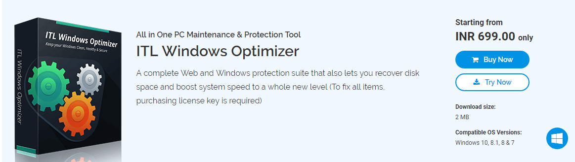 ITL Windows Optimizer