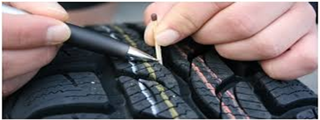 Learn how to measure the tyre tread