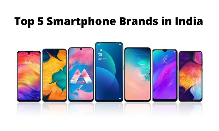 Top 5 smartphone brands in India for 2020