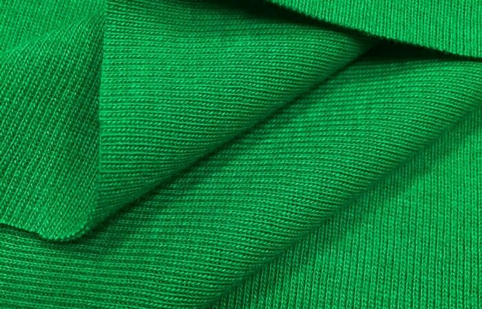 How normal Silk worm refining loopnet fabric texture?