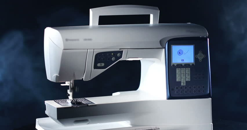 Art of stitching using modern machines