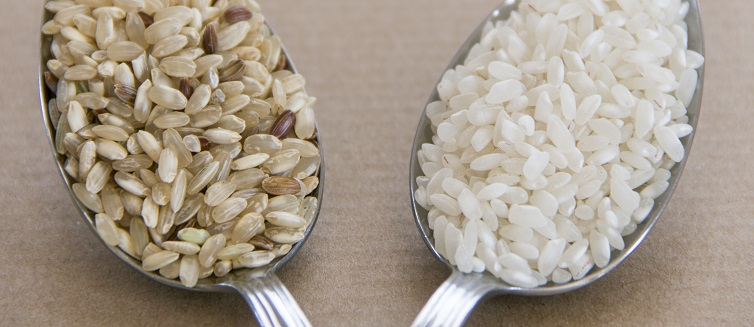 White rice or brown rice?