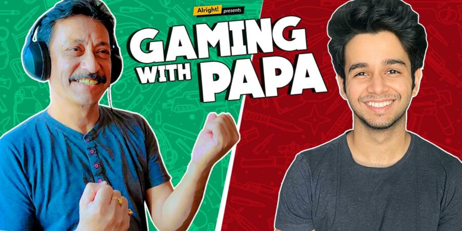 Why most of the kids like to play gaming with papa?