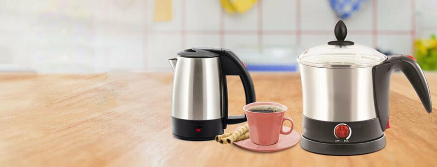 The top electric kettles in the Indian market