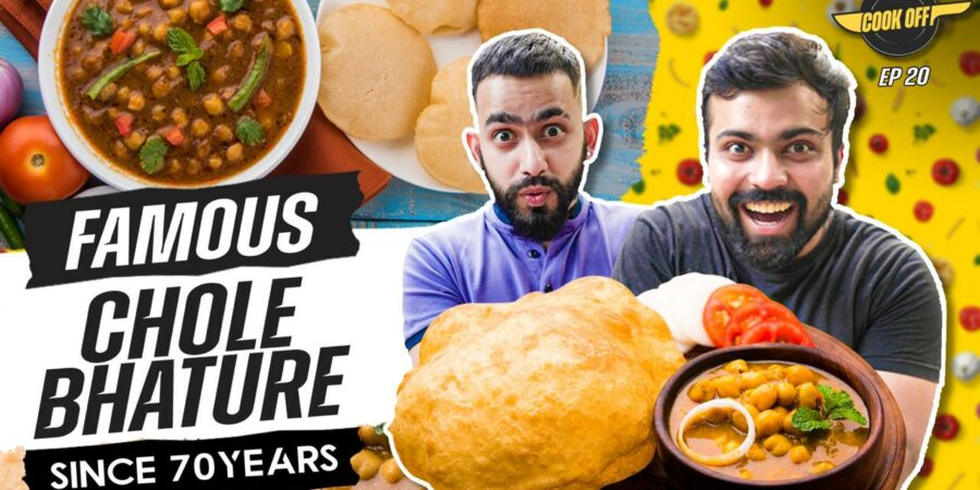 Make Chole Bhatura more interesting