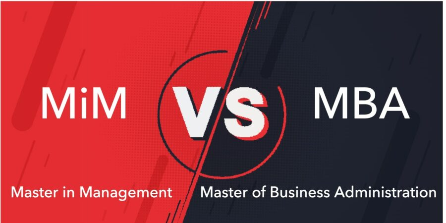 The Differences of A MIM and A MBA