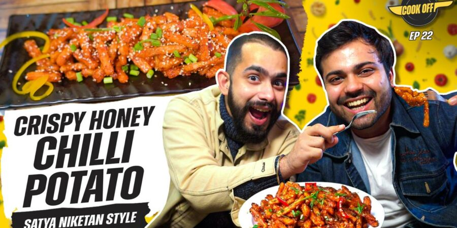 Best every honey chilli potato cooking challenge for a surprise the viewers