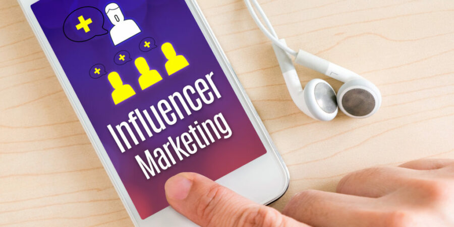 How should small startups approach influencer marketing?