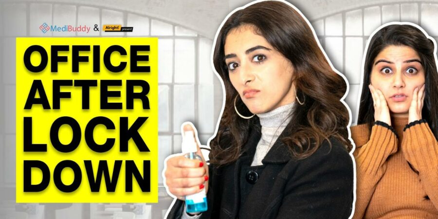 How do employees feel after lockdown while entering into office?