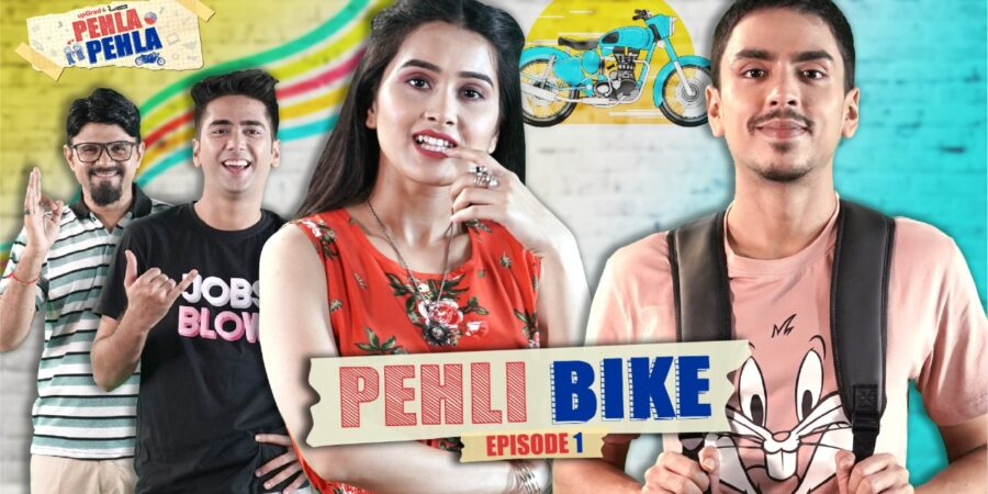 What concept does Pehla Pehla web series convey?