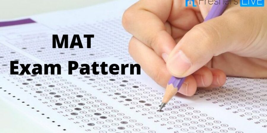 What is the Pattern of MAT EXAM?