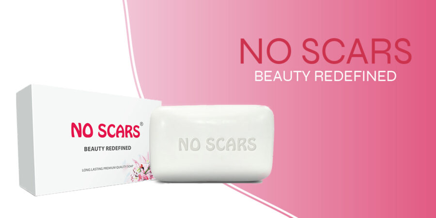 Use of no scar soaps