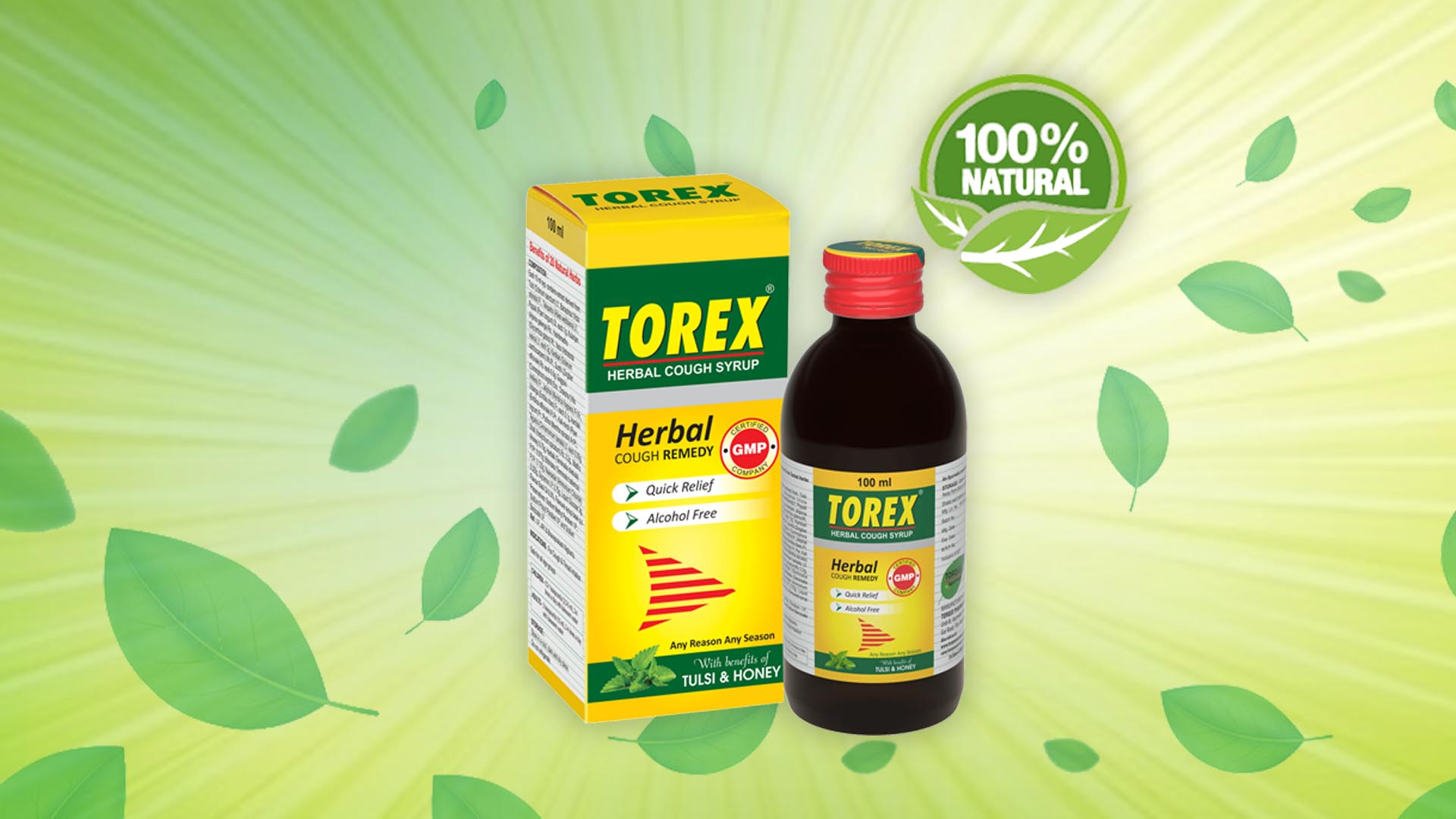 Ayurvedic cough syrup for a child