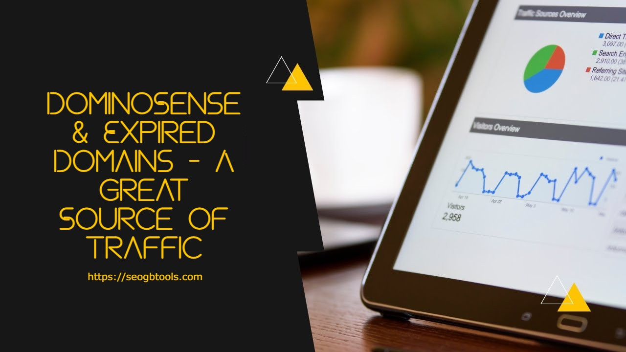 DominoSense & Expired Domains - A Great Source of Traffic
