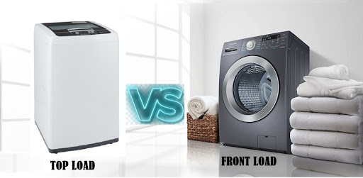 Why front loading washers are better in comparison to top loading washers