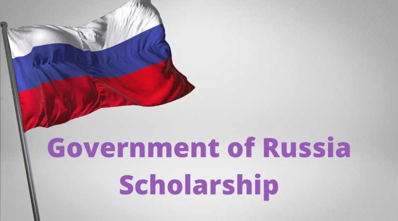 Government of Russia Scholarship