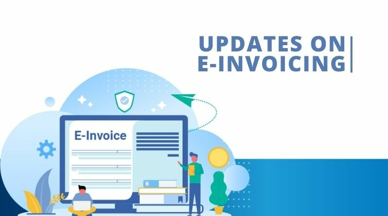 Latest e-Invoicing notifications